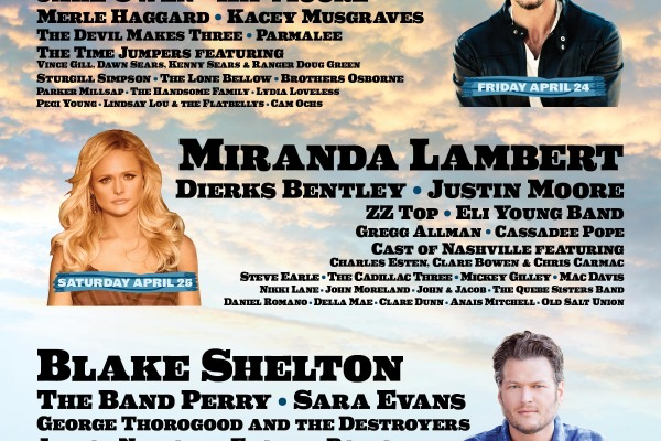 Stagecoach Festival's 2015 lineup