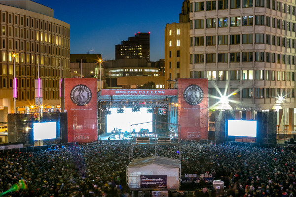 Boston Calling 2014 Crowd and Stage