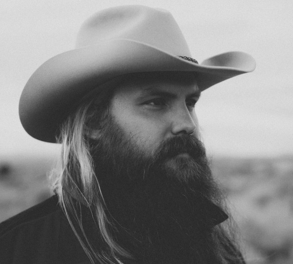 Chris Stapleton Photo Black and White