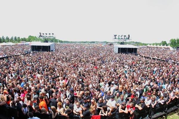 Carolina Rebellion 2011, Photo acquired from CR Facebook