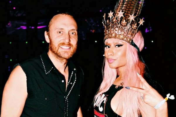 David Guetta and Nikki Menage