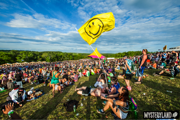 Caption: LINK HERE // (Mysteryland USA Festival Attendees | Photo Credit: Pearcy Proper)