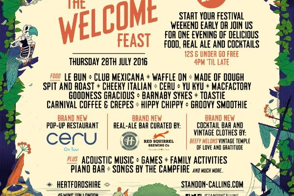 Standon Calling presents The Welcome Feast