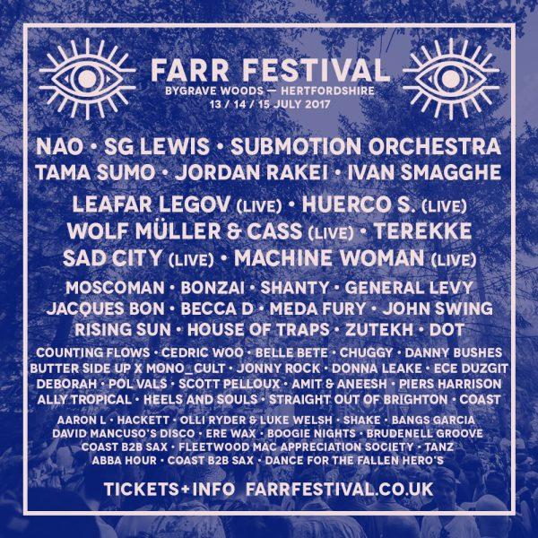 FARR Festival SQ-Second-Lineup