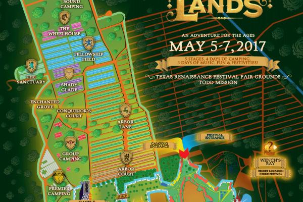 Middlelands Festival Map