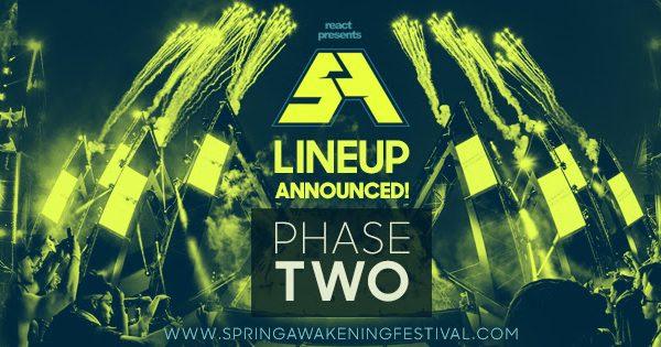 Spring Awakening Music Festival Banner