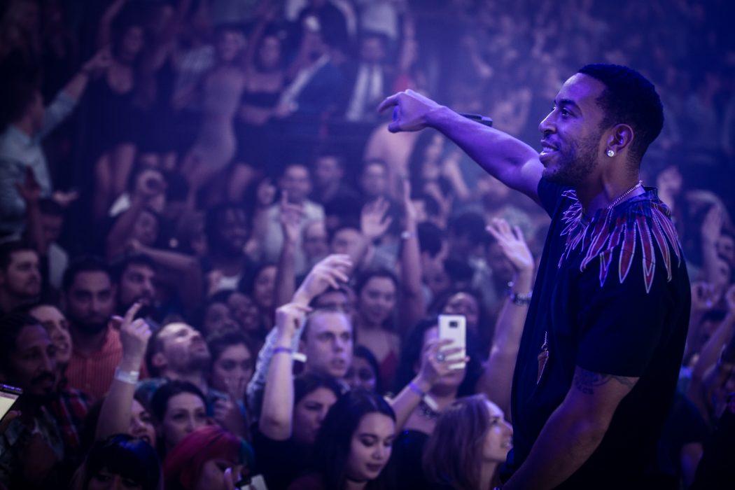 Ludacris performs at LIGHT Nightclub in Mandalay Bay