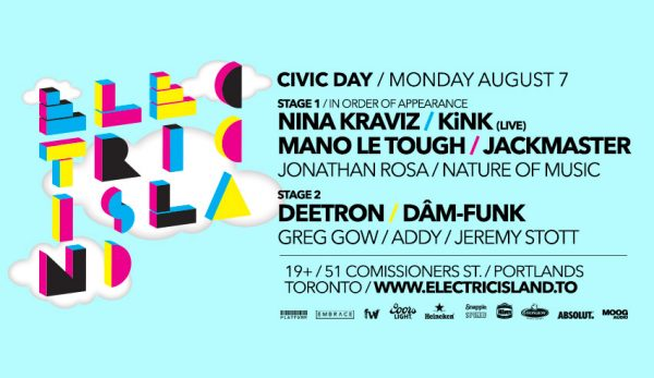 Electric Island Civic Holiday 2017