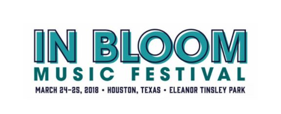 In Bloom Music Festival 2018 Houston Texas