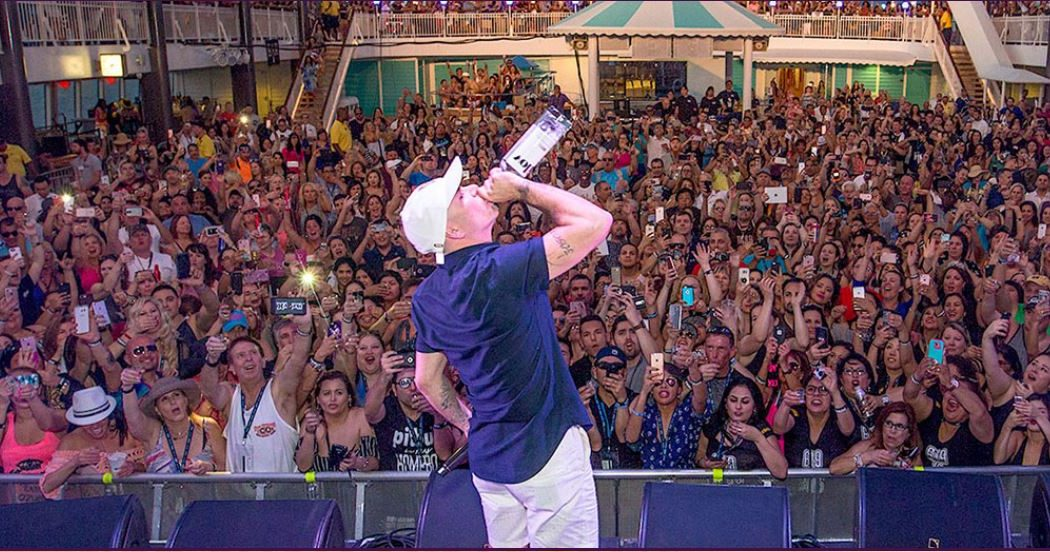 Pitbull After Dark Party Cruise Miami 2018 Norwegian Jade Ship