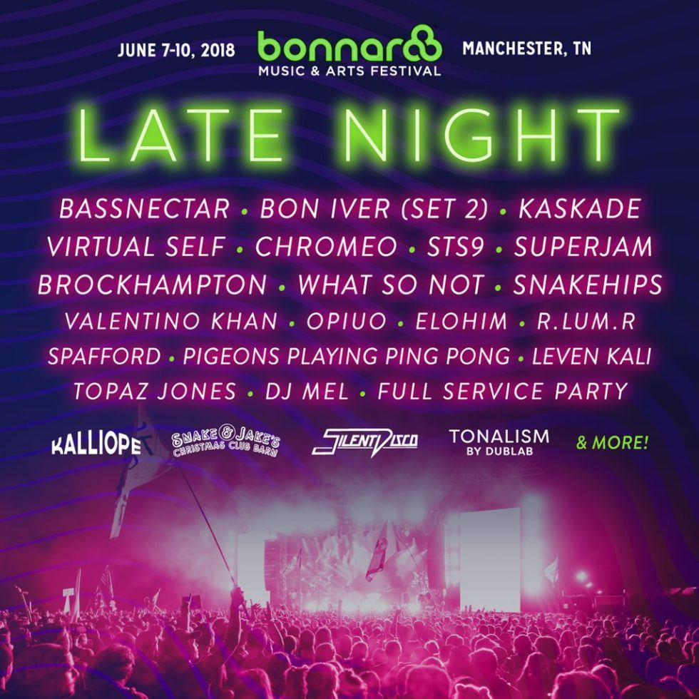 Bonnaroo 2018 Daily Lineup set to return to Manchester Park in Tennessee Headliners Eminem, Muse, The Killers
