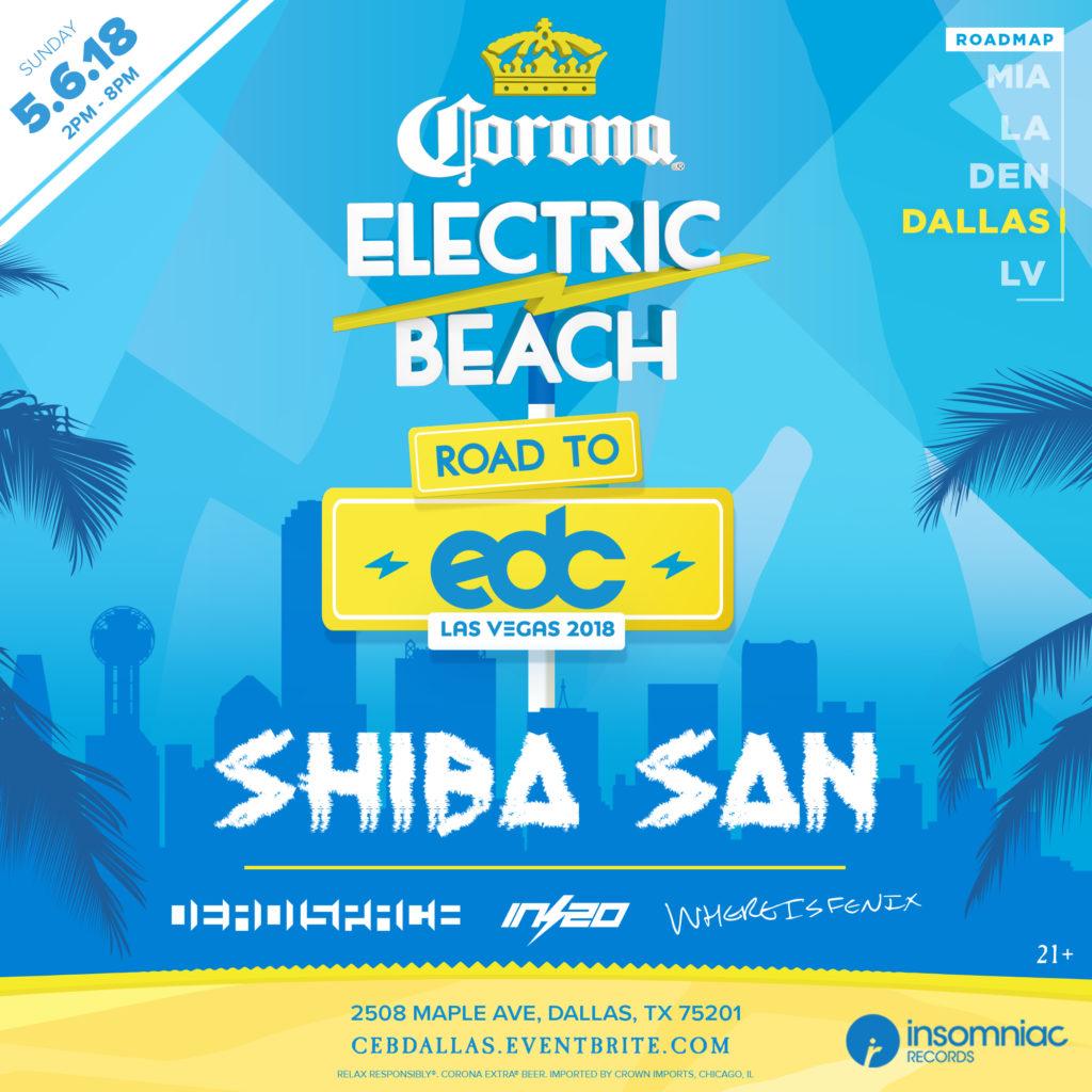Corona Electric Beach Dallas
