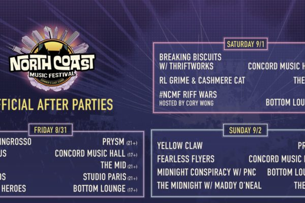 North Coast Music Festival: Official After Parties Announced!