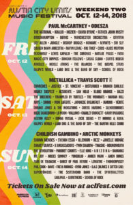ACL Weekend Two