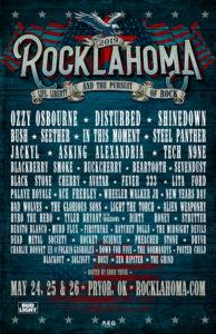 Rocklahoma Lineup 2019