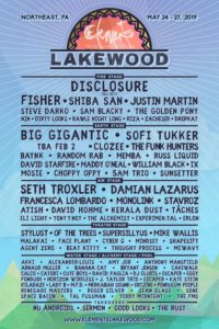 Elements Lakewood Lineup 2019