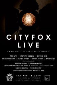 Cityfox Live Lineup