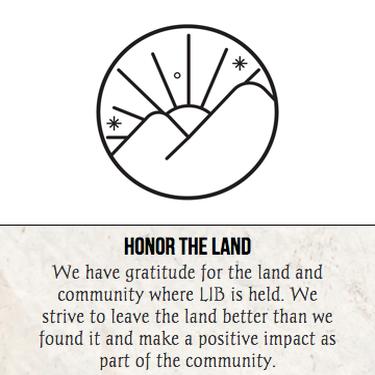 Honor the Land LIB