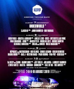 Neopop Festival Lineup
