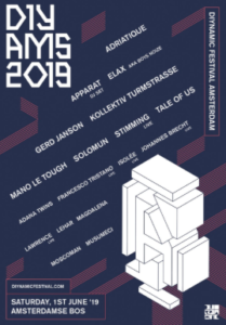 Diynamic Festival 2019 Amsterdam June 1