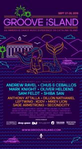 Groove Island 2019 Inagural Lineup