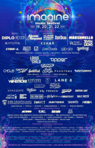Imagine Festival 2019 Full Lineup with Fourth day of music