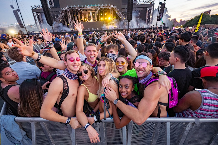 Electric Zoo Evolved 2019 Festival-goers