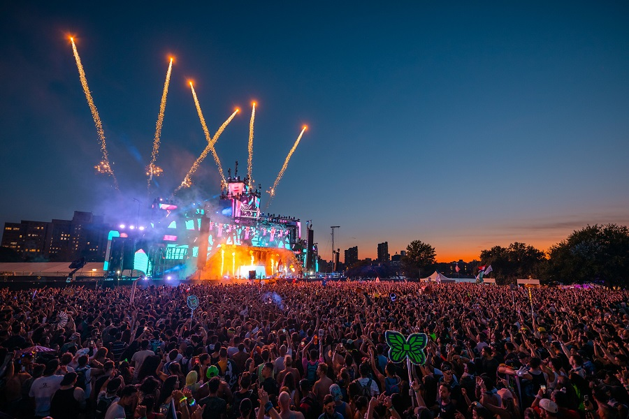 Electric Zoo Evolved 2019 Main Stage Fireworks