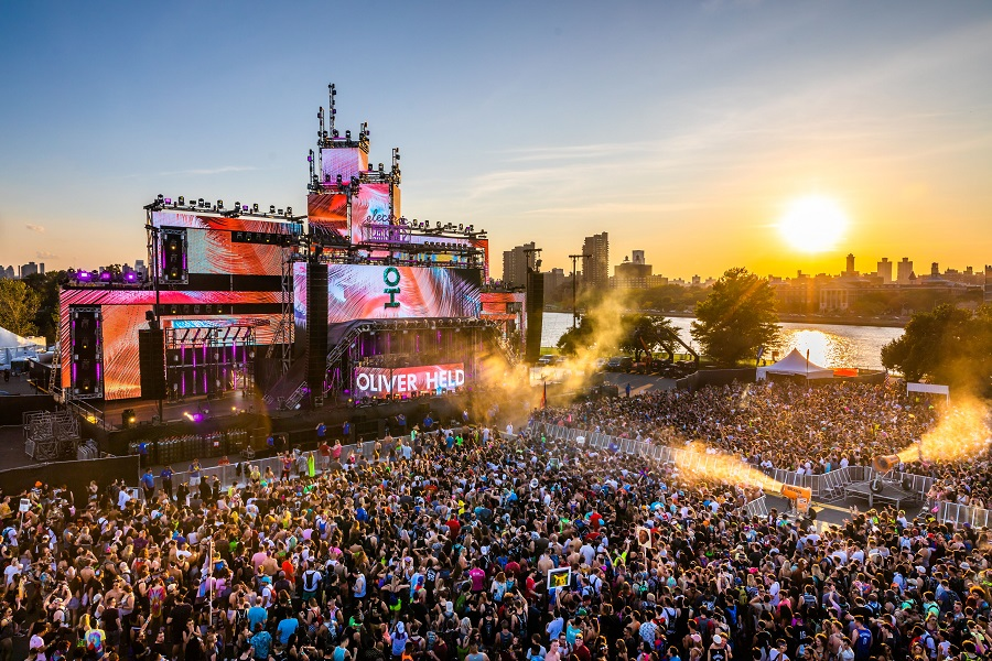 Electric Zoo Evolved 2019 Main Stage Oliver Heldens