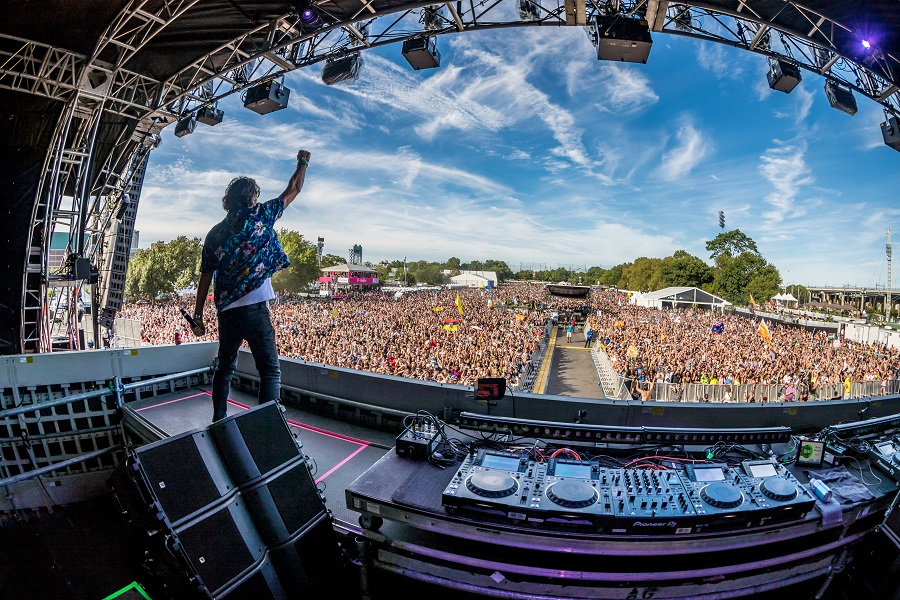 Electric Zoo Evolved 2019 Saturday from Main Stage