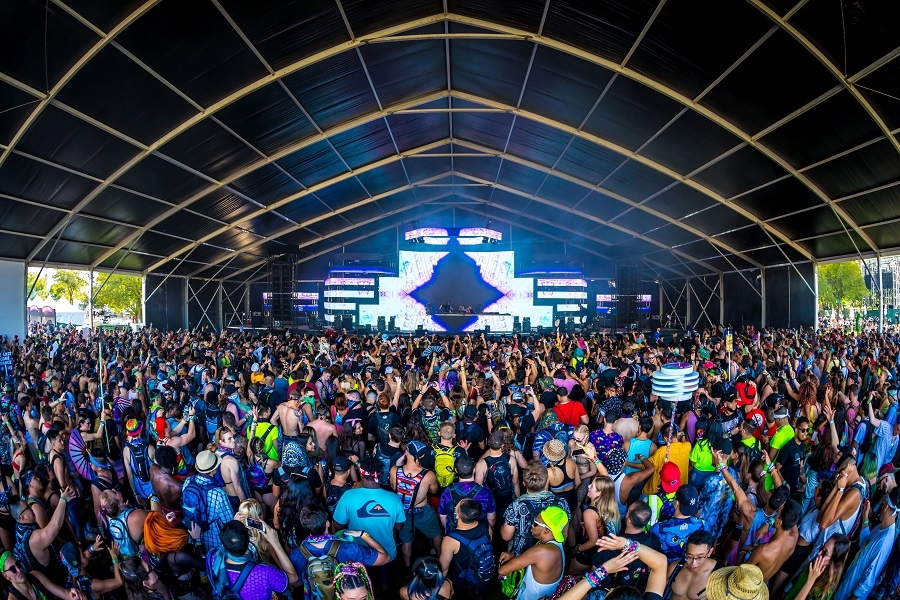 Electric Zoo Evolved 2019 Tent