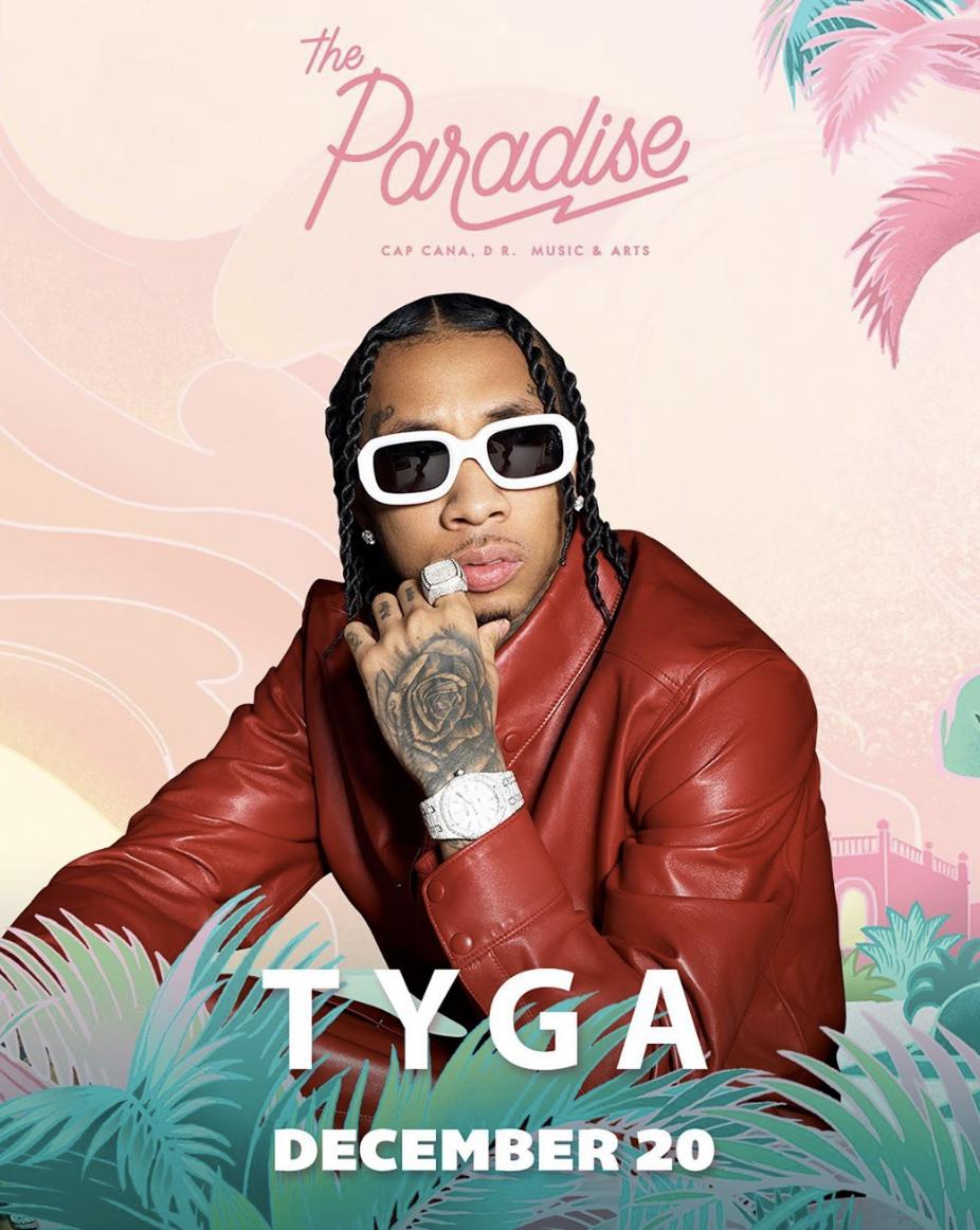 Tyga The Paradise Festival 2019