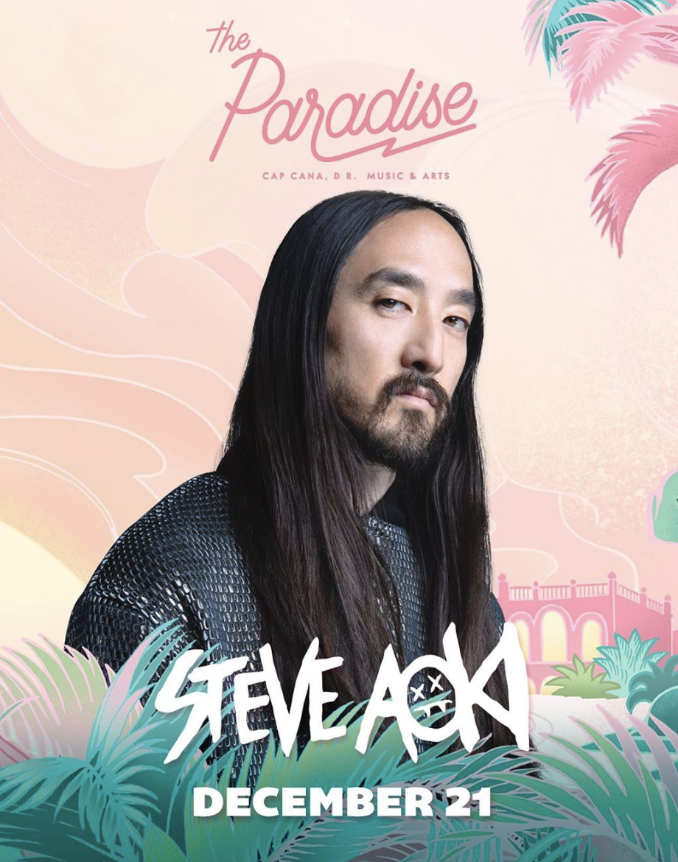 Steve Aoki The Paradise Festival 2019