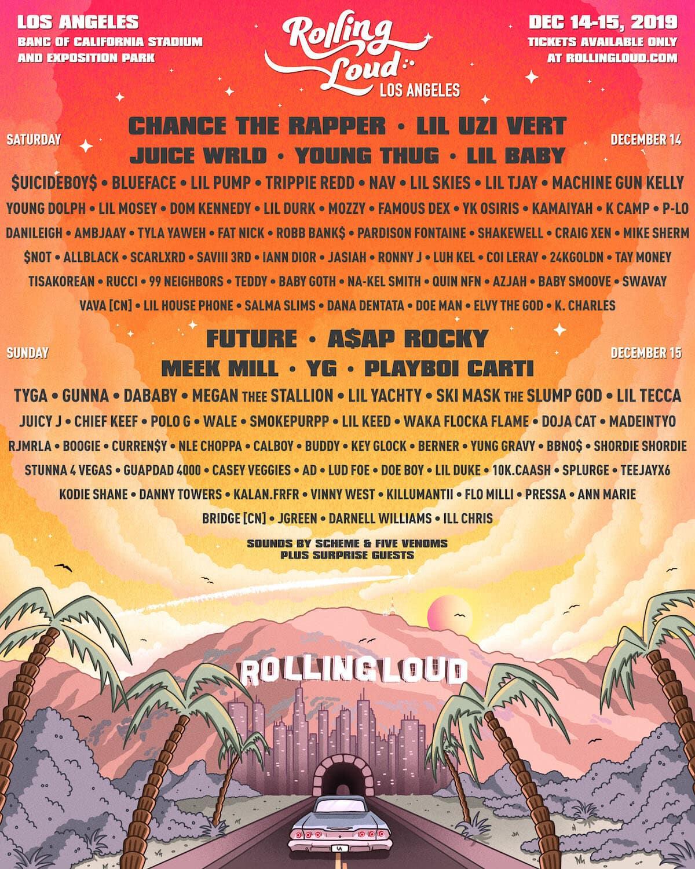 Rolling Loud LA Lineup