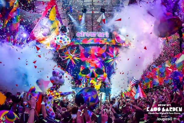 Kaos Garden, The First Immersive Experience Of Elrow'art U.S. Debut