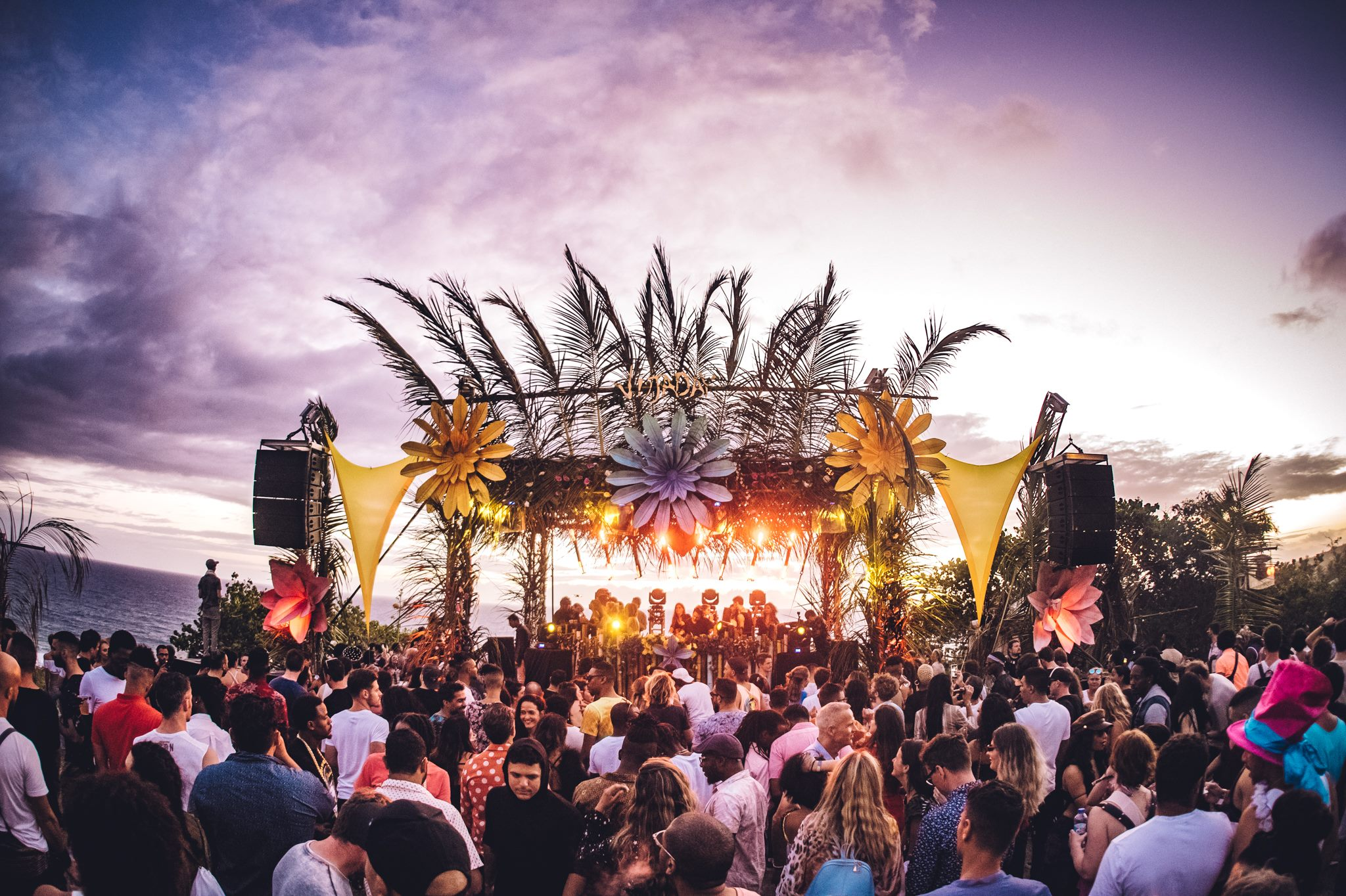 Sunrise Sets, Pirate Ships and Diplo at Vujaday Music Festival Barbados!