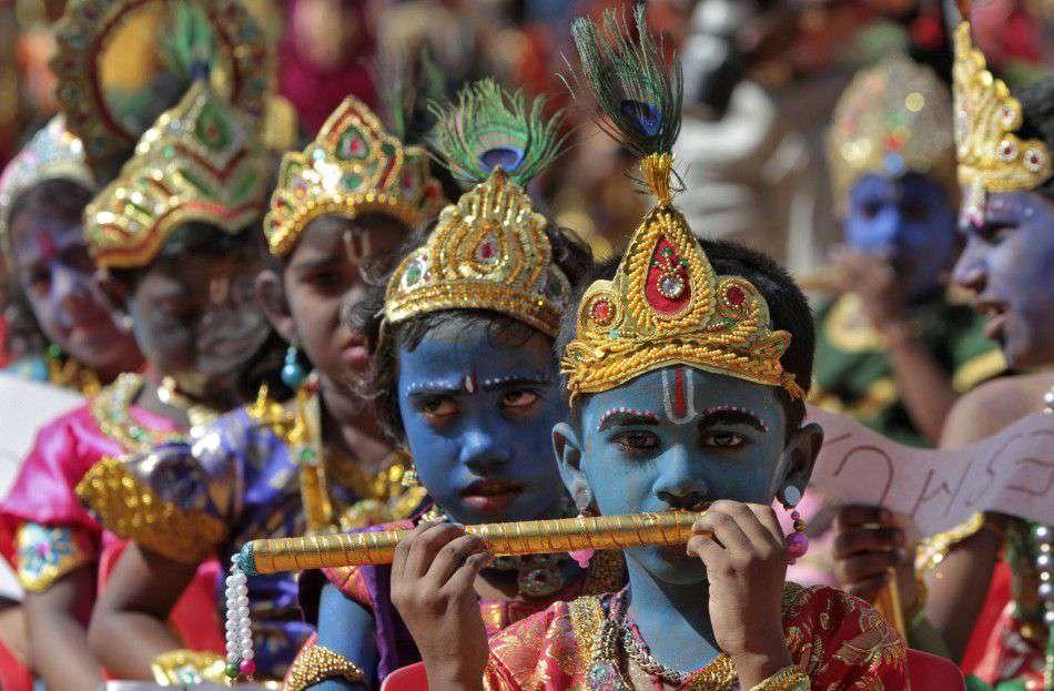 Most Famous Festivals of India Krishna Janmashtami