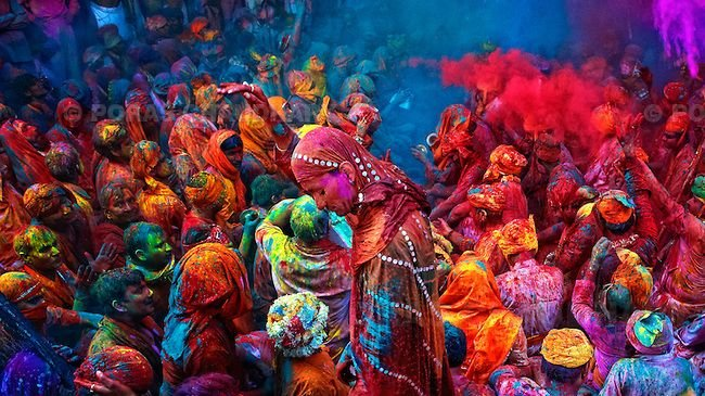 Most Famous Festivals of India Holi
