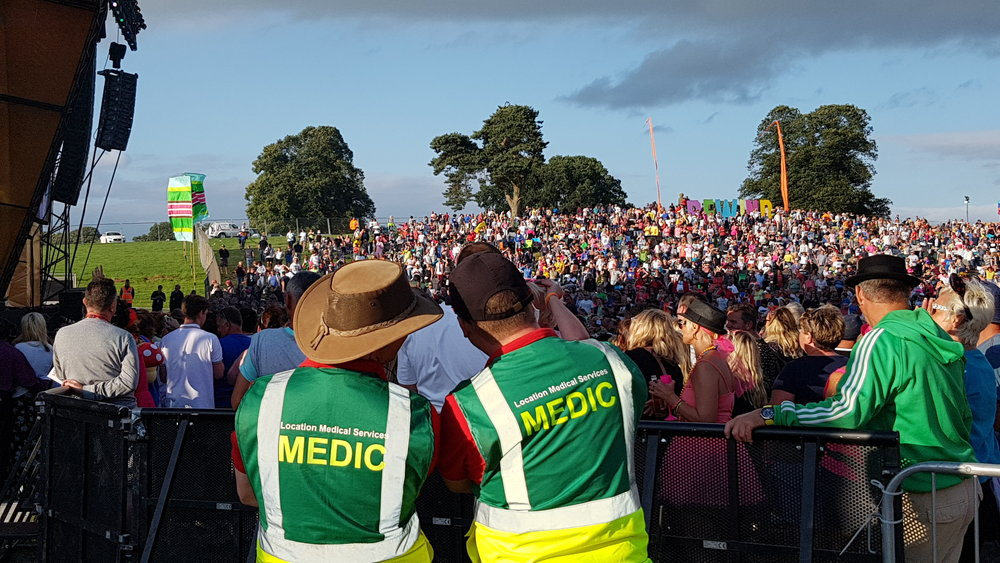 Festival Medical Staff